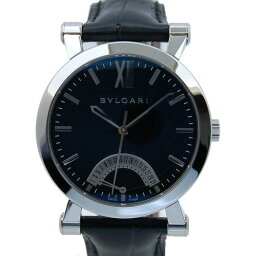 BVLGARI【ブルガリ】  ソティリオ ブルガリ SB42BSLDR 腕時計 /革