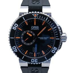 ORIS【オリス】 デイト  アクイス 腕時計 /ラバー メンズ