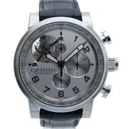 GRAHAM【グラハム】 2TSAS.W02A 7714 腕時計 ステンレススチール/レザー メンズ