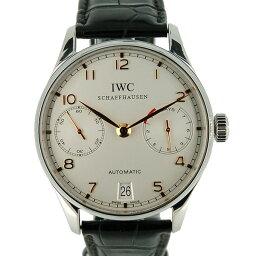 IWC【IWC】 7828 ステンレス/ レザー IW500114 メンズ