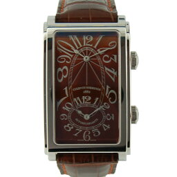 CUERVO Y SOBRINOS【クエルボ・イ・ソブリノス】 1112-1TG 腕時計 ステンレススチール/レザー メンズ