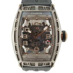 CVSTOS【クストス】 腕時計 チタン/ピンクゴールド メンズ