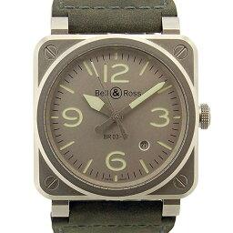 Bell&Ross【ベル&ロス】 BR0392-GR-ST/SCA 7425 腕時計 ステンレス メンズ