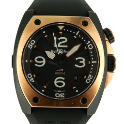 Bell&Ross【ベル&ロス】 7848 腕時計 ステンレススチール/ピングゴールド メンズ