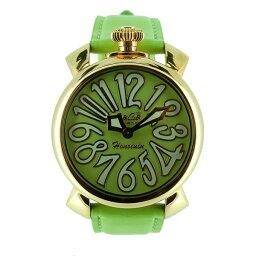 Gaga Milano【ガガ・ミラノ】 腕時計 ステンレススチール/レザー 男女兼用