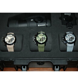 GRAHAM【グラハム】 腕時計 ステンレススチール/ラバー メンズ