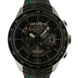 GRAHAM【グラハム】 2STAC2.B01A.K90F 腕時計 ステンレススチール/ラバー メンズ