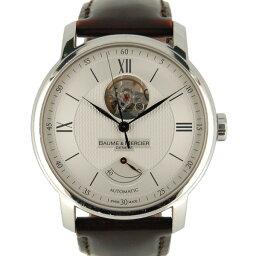 Baume & Mercier【ボーム&メルシェ】 MOA08869 腕時計 ステンレススチール/レザー メンズ