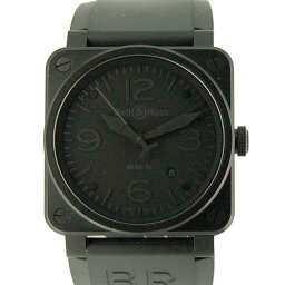 Bell&Ross【ベル&ロス】 腕時計 ステンレススチール/ラバー メンズ