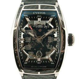 CVSTOS【クストス】 CVT-JET-CARBON-ST 腕時計 ステンレススチール/カーボン メンズ
