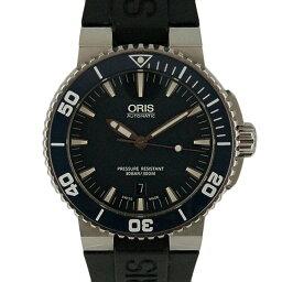 ORIS【オリス】 73376534155 腕時計 ステンレススチール/ラバー メンズ