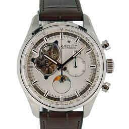 ZENITH【ゼニス】 03.2160.4047/01.C713 腕時計 ステンレススチール/レザー メンズ