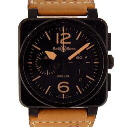 Bell&Ross【ベル&ロス】 7425 腕時計 ステンレススチール/レザー メンズ
