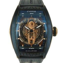CVSTOS【クストス】 CVT-SEA-CP5NBLST 腕時計 ステンレススチール/ロードライトガーネット/18Kレッドゴールド メンズ