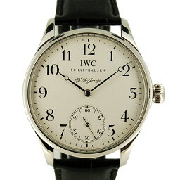 IWC【IWC】 7828 プラチナ/ レザー IW544202 メンズ