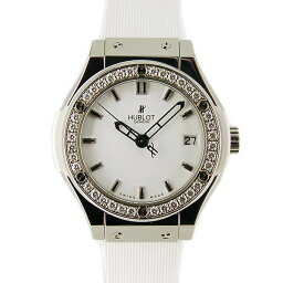 HUBLOT【ウブロ】 581.NE.2010.RW.1104 7589 腕時計 チタン/ステンレス レディース