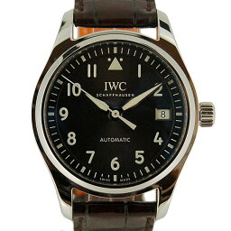 IWC【IWC】 7753 ステンレス/ レザー IW324001 メンズ