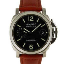 PANERAI【パネライ】 ステンレス/ レザー PAM00048 メンズ