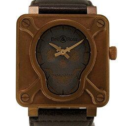 Bell&Ross【ベル&ロス】 BR01-92-SKULL-BR 7423 腕時計 /ブロンズ メンズ
