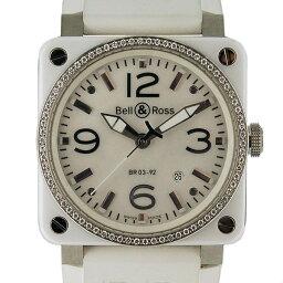 Bell&Ross【ベル&ロス】 BR03-92 腕時計 セラミック/SS メンズ