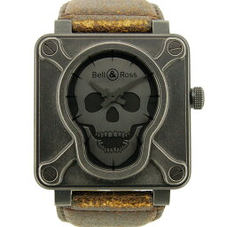 Bell&Ross【ベル&ロス】 エアボーン2 7423 腕時計 レザー メンズ