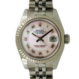 ROLEX【ロレックス】 7725 腕時計 K18ホワイトゴールド/K18WGベゼル×SS(ステンレススチール) レディース