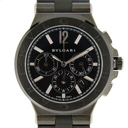 BVLGARI【ブルガリ】 DG42BBSCVDCH 腕時計 /SS(DLC加工)/CE メンズ