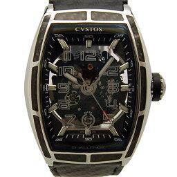 CVSTOS【クストス】 CVT-JET-CARBON-ST 腕時計 SS メンズ