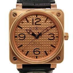 Bell&Ross【ベル&ロス】 腕時計 K18ピンクゴールド メンズ