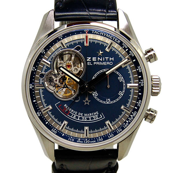 ZENITH [Zenith] Stainless Steel / leather 03 2085 4021 / 51 C700 Men's ー  The best place to buy Brand Watches, Watch Heroes