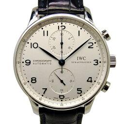 IWC【IWC】 SS/ レザー IW371417 メンズ