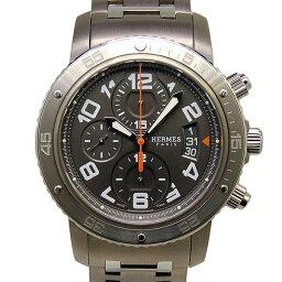 HERMES【エルメス】 CP2.941.230/4963 腕時計 /ステンレススチール/チタン メンズ