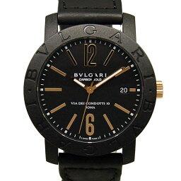 BVLGARI【ブルガリ】 BBP40BCGLD/N 腕時計 /カーボン/ピンクゴールド メンズ