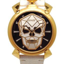 Gaga Milano【ガガ・ミラノ】 6014.02S 腕時計 SS メンズ