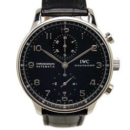 IWC【IWC】 7828 SS/ レザー IW371447 メンズ