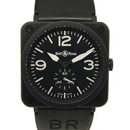 Bell&Ross【ベル&ロス】 9318/ ラバー BRS-98-BCS メンズ
