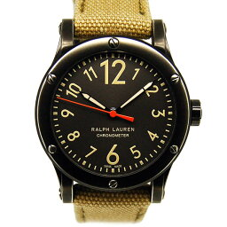 RALPH LAUREN【ラルフローレン】 RLR0250900 腕時計 SS/ステンレススチール(PVDコーディング) メンズ