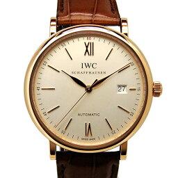 IWC【IWC】 9408/ レザー IW356504 メンズ