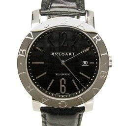 BVLGARI【ブルガリ】 BB42BSLD 7820 腕時計 SS/レザー メンズ
