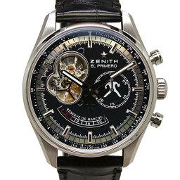 ZENITH【ゼニス】 03.20810.4021/27.C496 腕時計 SS メンズ