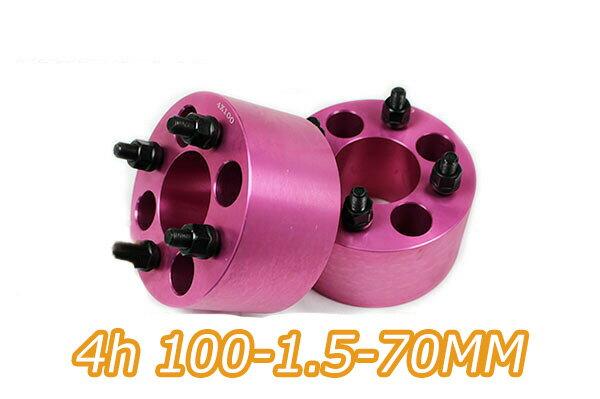 タイヤ・ホイール, ホイールスペーサー  4 2 PCD100 M12x1.5 70mm