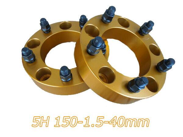 タイヤ・ホイール, ホイールスペーサー  5 2 PCD150 M14X1.5 40mm