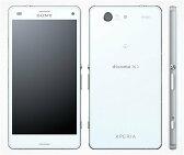 docomo Xperia Z3 Compact SO-02G ホワイト 本体のみ ジャンク 【白ロム】【中古】【中古スマホ】【中古携帯】【エコモ】