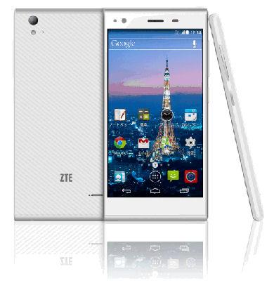 【スマホ】【白ロム】【本体】【中古スマホ】【中古携帯】SIMフリー ZTE Blade Vec 4G ホワイト ...