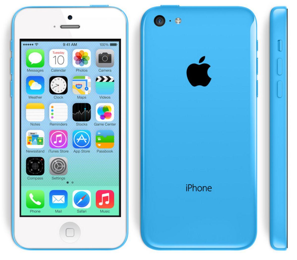 docomoiPhone5C16GBブルー本体のみジャンク【白ロム】【中古】【中古スマホ】【中古携帯】【エコモ】