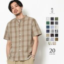 カジュアルシャツ メンズ 半袖 半袖シャツ ZIP ジップ ...