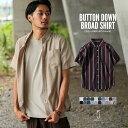 カジュアルシャツ メンズ 半袖 半袖シャツ ブロードシャツ ...