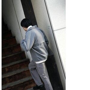 《ブラックフライデーP5倍》スイングトップメンズジャケットブルゾンラグランスリーブウールアウター長袖無地チェックZIPジップ秋秋物秋服(br3001)