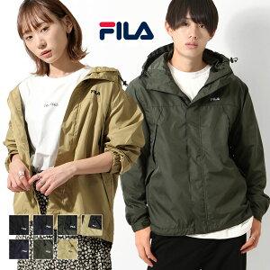 FILA マウンテンパーカー メンズ ジャケット 男女兼用 ブルゾン アウター マンパー 防風 ワンポイント ロゴ刺繍 ファッション ZIP FIVE ジップファイブ (fh7630)