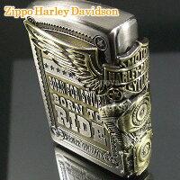 ZIPPOハーレーダビッドソンエスメタルジッポHDP-27